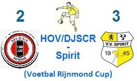Voorbeschouwing HOVDJSCR-Spirit (Rijnmond cup)