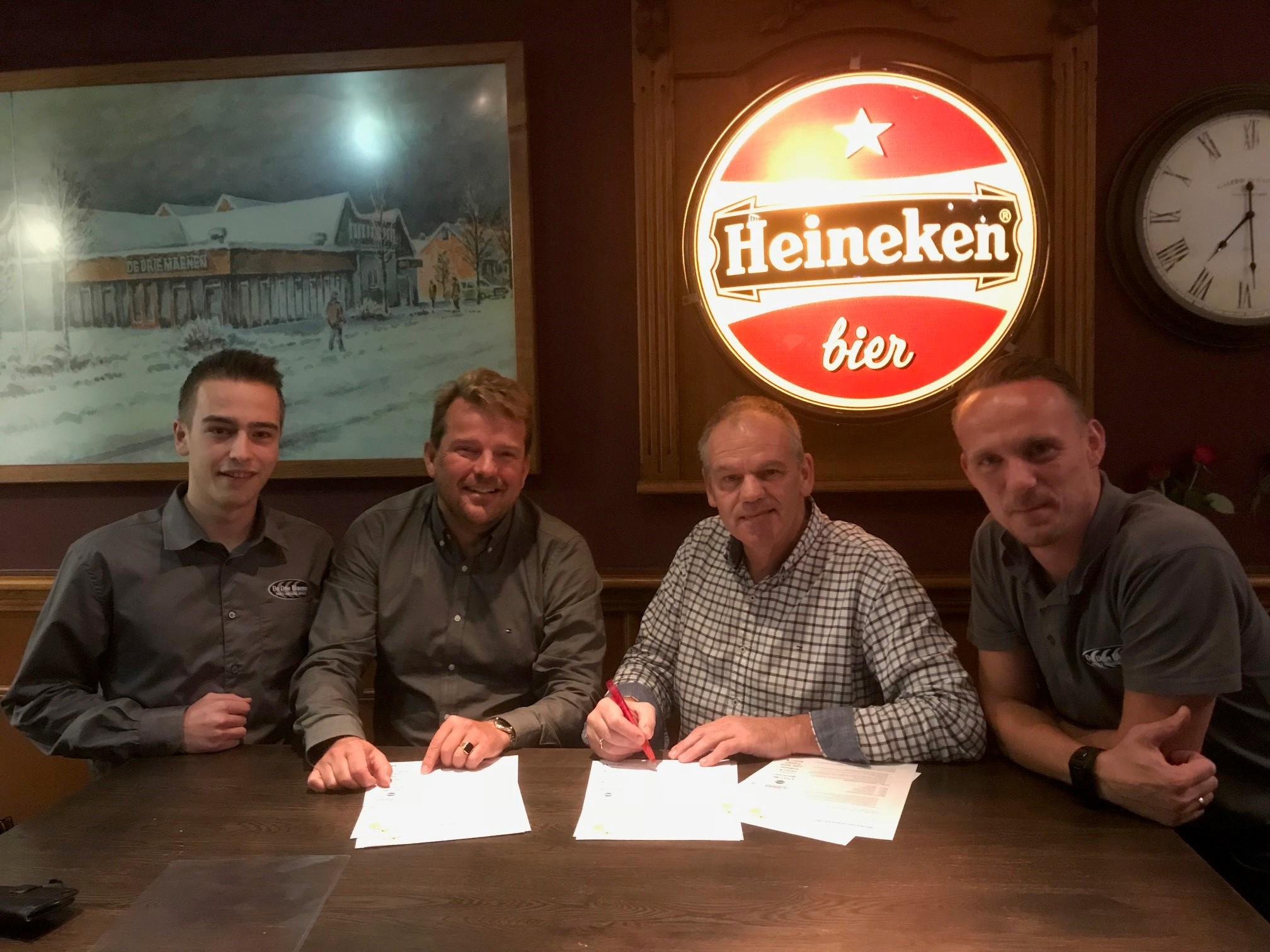 Ook Bar De Drie Maenen gaat Spirit sponsoren