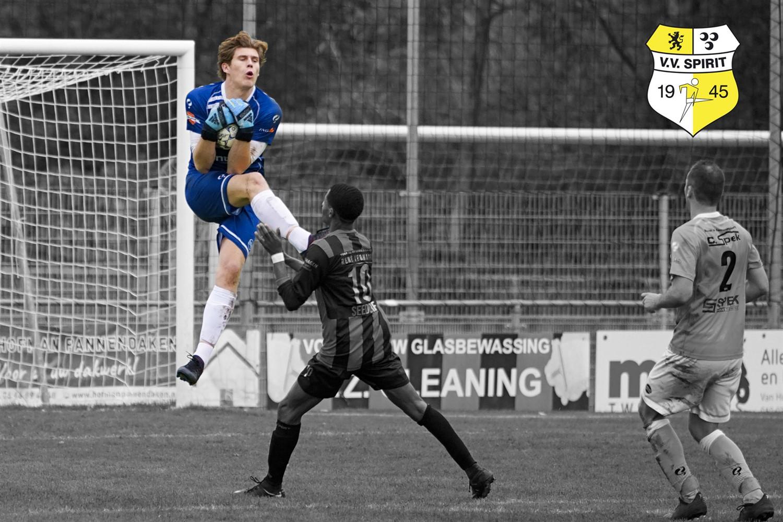 Debuut Max van Herk bij FC Dordrecht