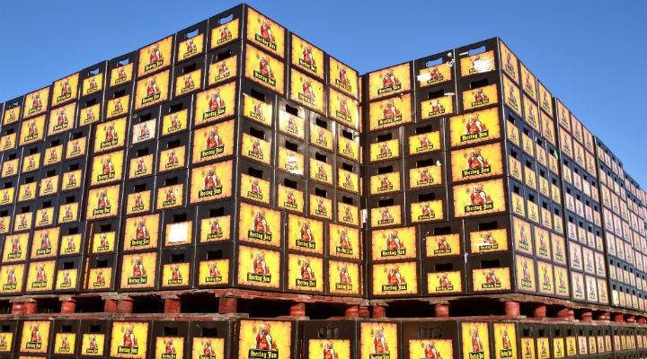 Kratten Hertog Jan bier te koop