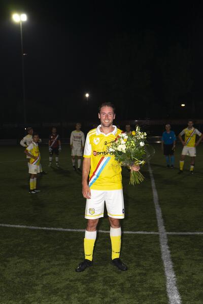Afscheidswedstrijd Sander Kalkman met veel hoogtepunten