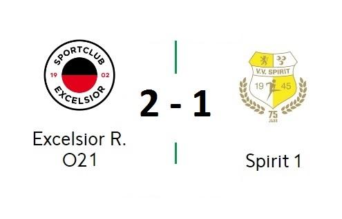 Spirit verliest ook 2e oefen wedstrijd: 2-1