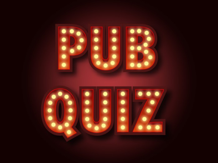 Spirit organiseert Pub Quiz voor teams op 17 december