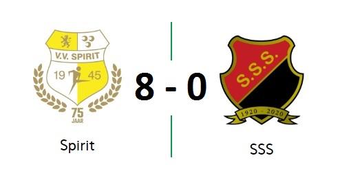 Spirit geen kind aan gehavend SSS: 8-0